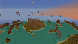 Island Flight-course