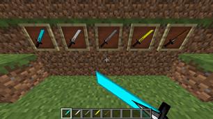 minecraft mod KingRay111's Sword Pack