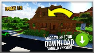 minecraft mod MrCrayfish's Town Replica – Vanilla Minecraft