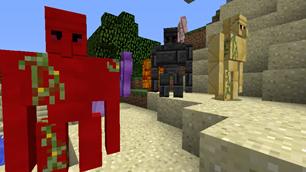 minecraft mod Tinkers' Golems Addon