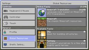 Translations for Minecraft