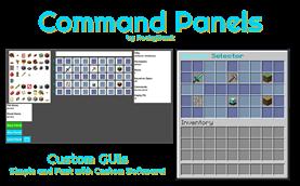 Command Panels | Custom GUIs
