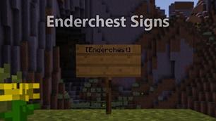 Enderchest Signs