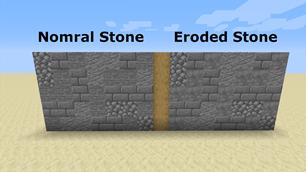 minecraft mod Eroded Stone