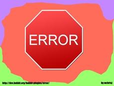 wow addon Error
