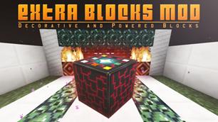 minecraft mod Extra Blocks Mod