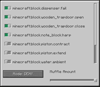 minecraft mod [Fabric] Simple Sound Muffler