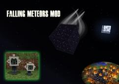 minecraft mod Falling Meteors Mod