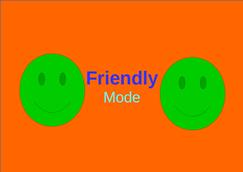 wow addon Friendly Mode