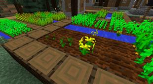 minecraft mod Growing Flowers 2