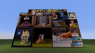 minecraft mod Original Paintings
