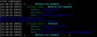 RE: Core for bukkit