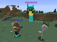 wow addon Standing Mobs
