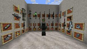 minecraft mod Techguns