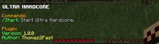 Ultra Hardcore 1.8