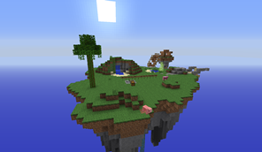 Waka Islands 1 Survival Island Map