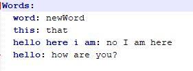 wow addon WordChanger